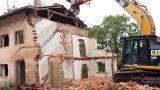 Recupero materiale edile da demolizione