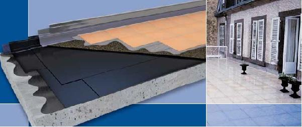 Membrana impermeabilizzante sotto pavimento di Siplast