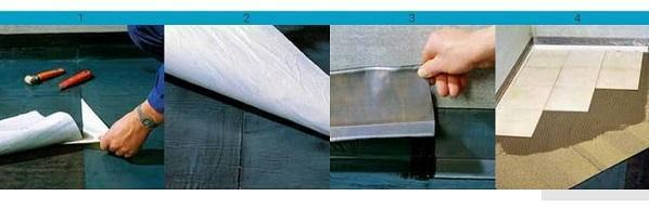 Posa membrana impermeabilizzante Siplast