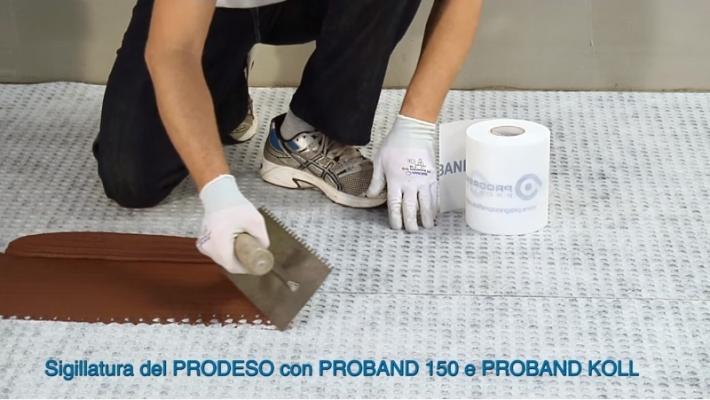 Progess Profiles: membrana impermeabilizzante sotto pavimento