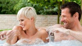 Vasche idromassaggio per terrazze e giardini