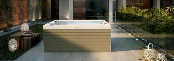 vasca idromassaggio outdoor Unique di Jacuzzi