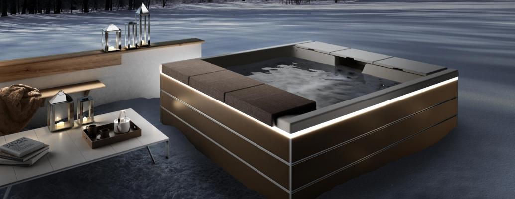 Vasche idromassaggio per esterni - Piscina jacuzzi da esterno ...