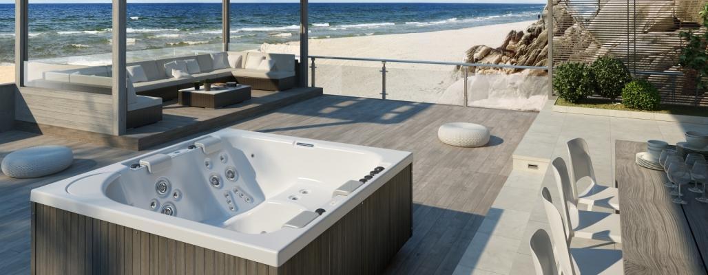 Vasche idromassaggio per esterni - Minipiscine da esterno ...
