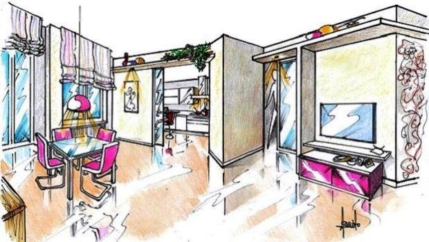 Progettare la cucina e il soggiorno come due ambienti separati
