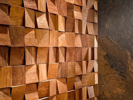 Porcelanosa-Wood Feel: mosaici in legno