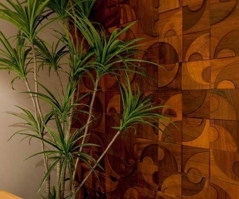 Mosaico con tessere di legno, di Mosarte, modello Niteroi