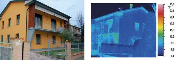Analisi termografica edificio
