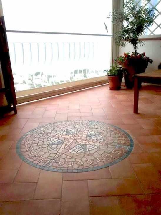 Rosone per pavimento - Pavimento terrazzo esterno ...