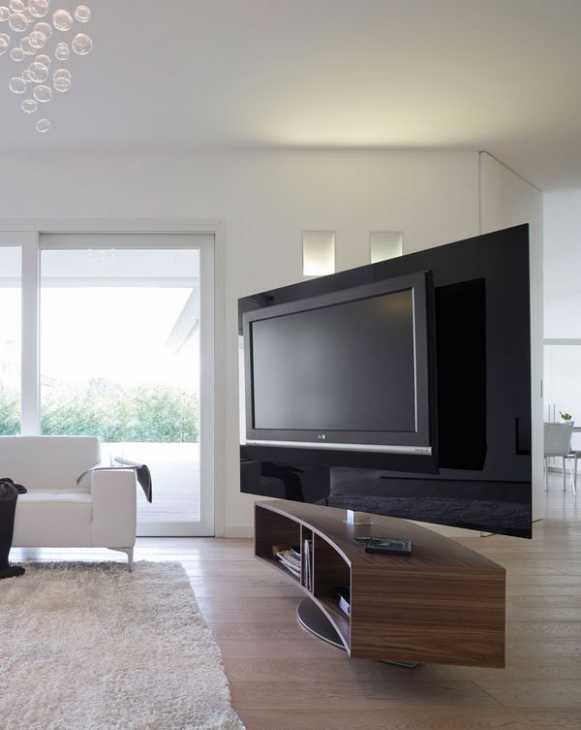 ODEON: il porta TV in vetro dell'azienda ANTONELLOITALIA
