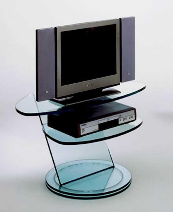 SCENARIO: il porta TV in vetro dell'azienda TONELLI