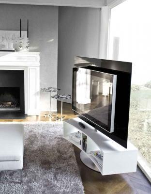 Porta-TV in vetro by ANTONELLOITALIA modello ODEON