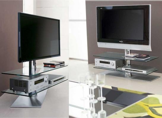 Porta-TV in vetro by CATTELAN ITALIA modello VISION