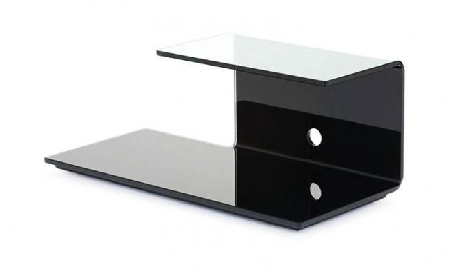 Porta-TV in vetro, modello TOBY, di SOVETITALIA