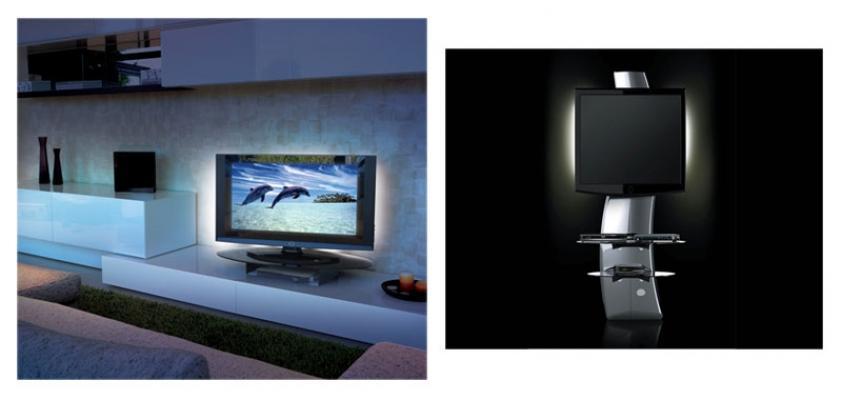 Applicazione di sistema di luce MELICONI per tv