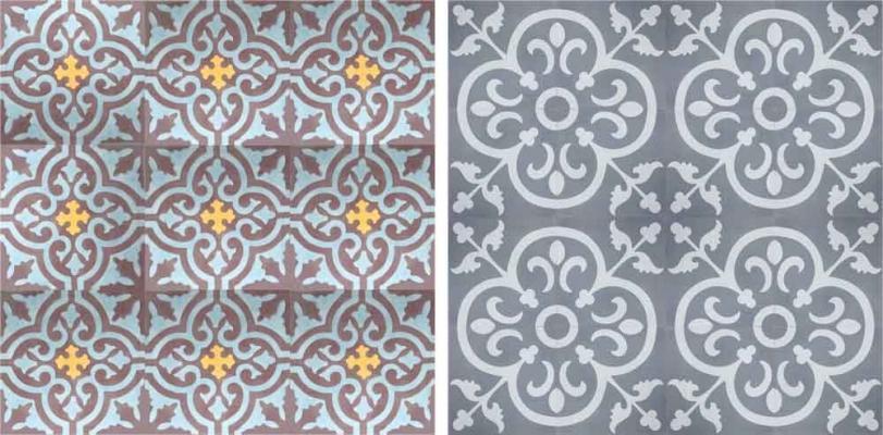 Cementine decorative Yann