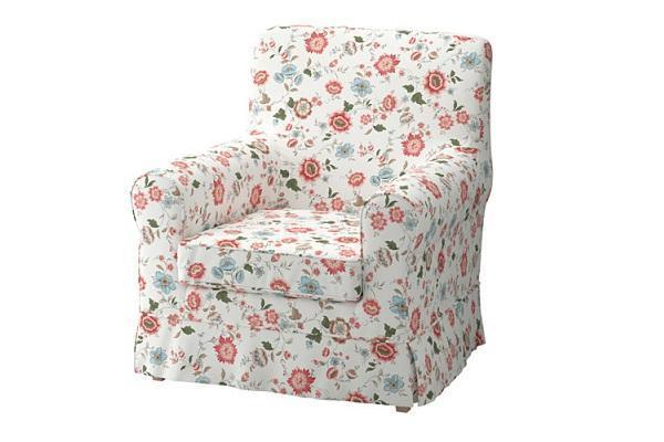 Fodera per poltrone Jennylund Ikea con fantasia floreale