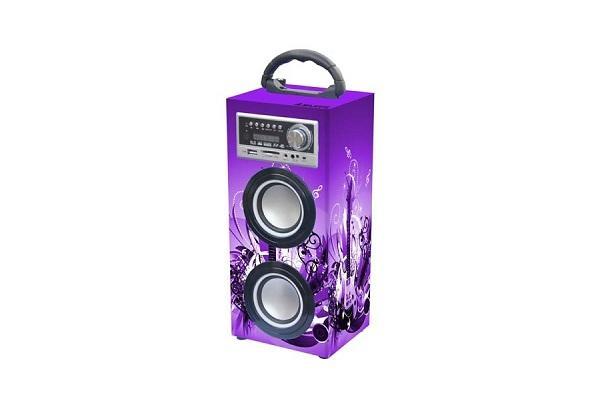 Impianto audio bluetooth portatile Majestic