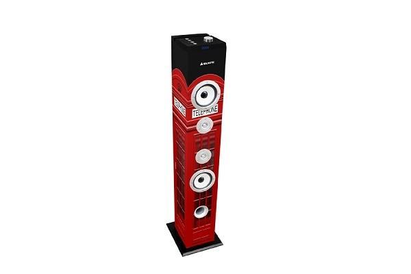Impianto audio bluetooth Majestic rosso