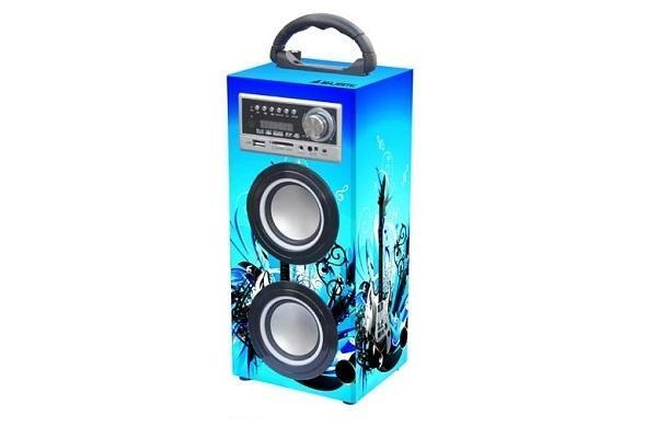 Impianto audio bluetooth Majestic portatile fantasia celeste