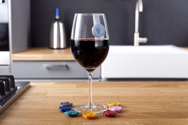 Markers bicchieri di Vacu Vin