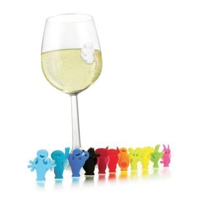 Markers bicchieri da vino di Vacu Vin