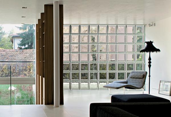 pareti divisorie in vetromattoni : Parete In Vetrocemento : Vetromattone caratteristiche dimensioni e ...