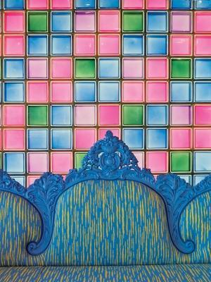 Vetromattone e colore Seves Glassblock