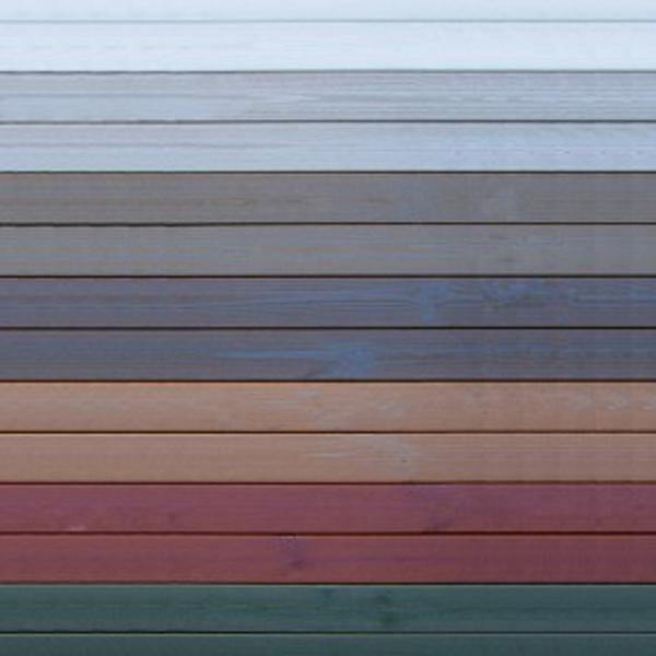 ONLYWOOD pavimento giardino  pino colorato