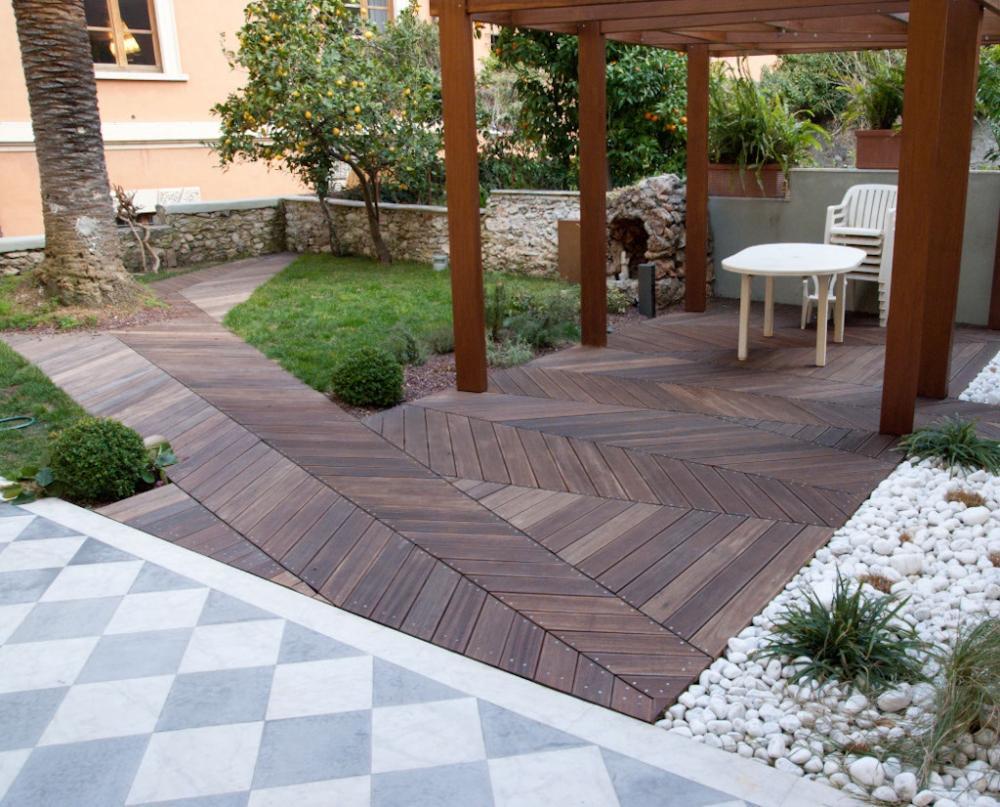 Foto pavimentazioni per giardino