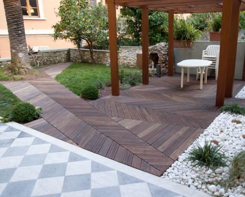 Pavimentazioni per giardino - Pavimentazione cortile esterno ...