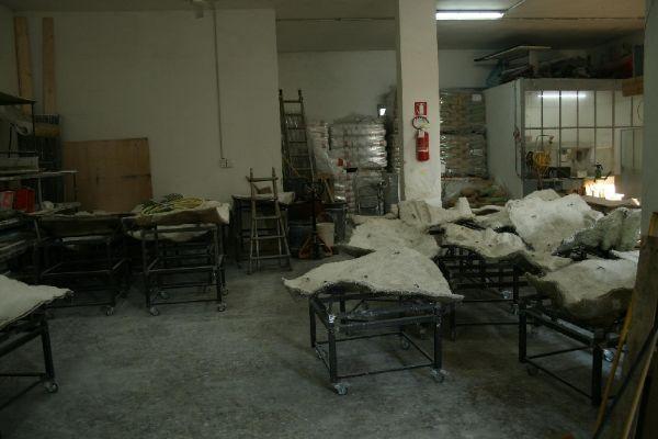 Rocce artificiali realizzazione scocche di Pianeta Roccia