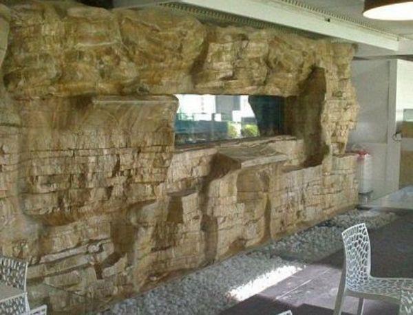 Rocce artificiali da interni di Pianeta Roccia