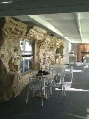 Roccia artificiale interno di Pianeta Roccia
