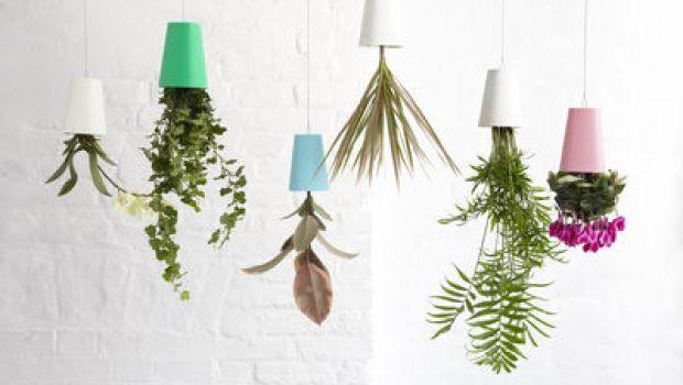 Vasi sospesi per piante: un'idea per l'arredo di interni ed esterni