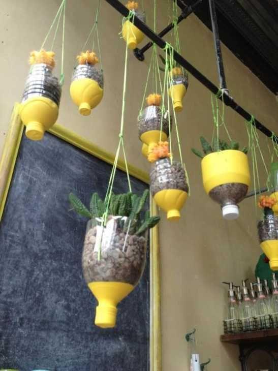 Idea fai da te vaso sospeso di Thegardenglove.com