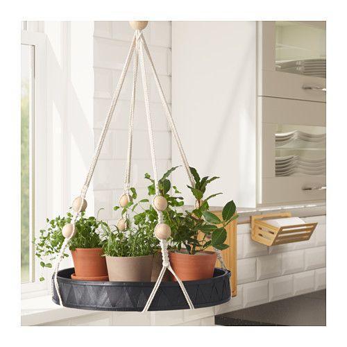 vassoio porta piante Ikea modello Anvandbar