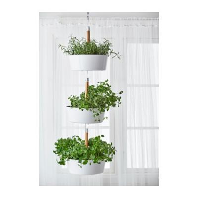 Vasi sospesi per piante da appendere for Fioriera verticale ikea