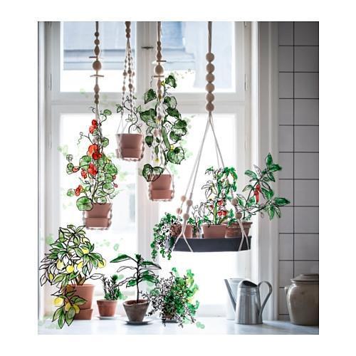 Foto vasi sospesi per piante da appendere for Portaspezie da appendere ikea
