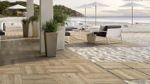 Ceramica effetto legno: caratteristiche e manutenzione