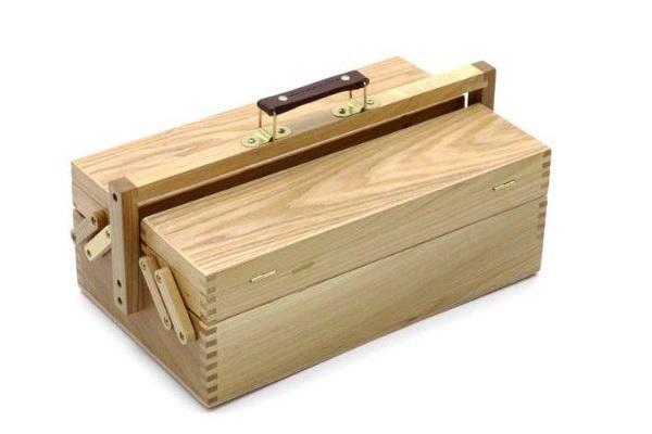 Cassetta portattrezzi in legno di Artina