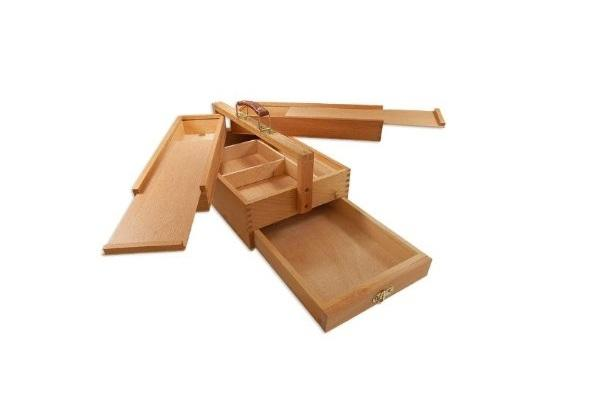 Cassetta portattrezzi in legno Vannes di Artina