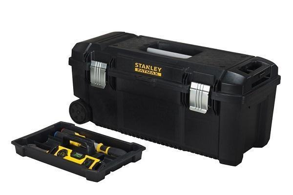 Cassetta porta attrezzi per il fai da te e professionale - Cassetta porta attrezzi stanley con ruote ...