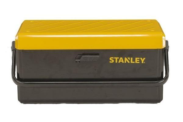 Cassetta portattrezzi in metallo di Stanley chiusa