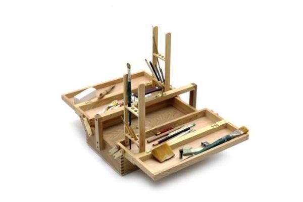 Cassetta portattrezzi in legno Artina da Amazon
