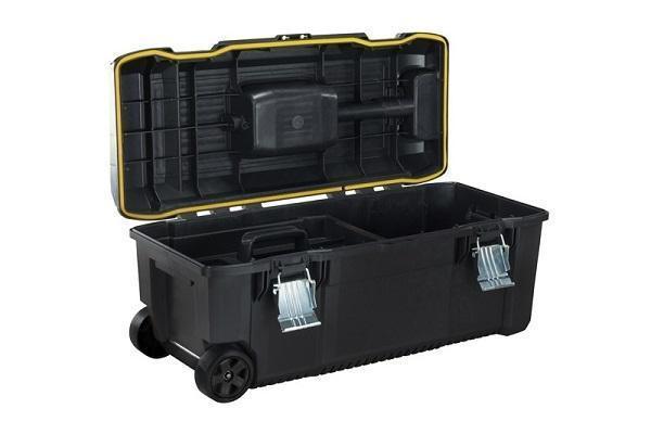 Foto cassetta porta attrezzi per il fai da te e - Cassetta porta attrezzi stanley con ruote ...