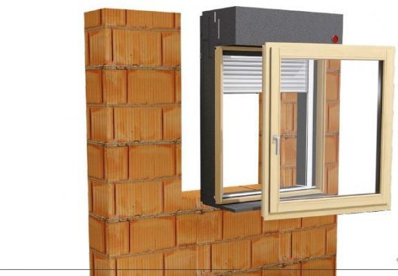 Monoblocco termoisolante: Fenster Isobloc, montaggio