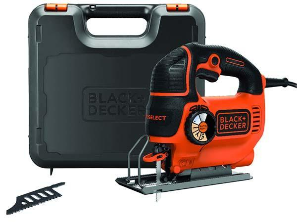 Seghetto alternativo Autoselect® 620W di Black+Decker