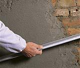 Intonacare muro esterno , applicazione