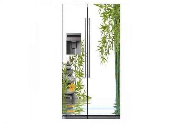 Adesivo per frigorifero Zen di Stickersparadise